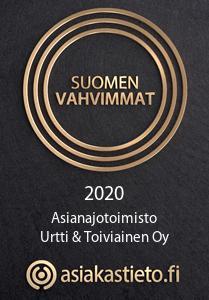 Asianajotoimisto Urtti Suomen Vahvimmat